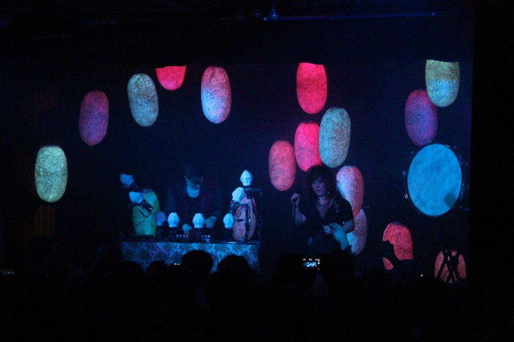 Purity Ring at OAF. Photo: Nick Westin