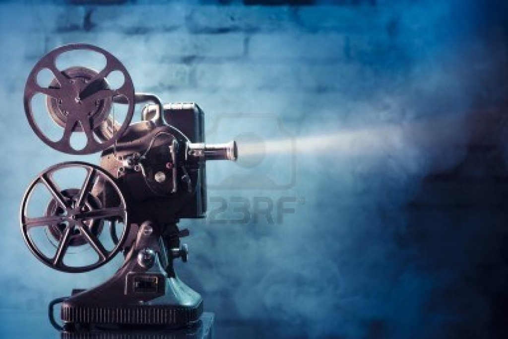 12360077-photo-of-an-old-movie-projector