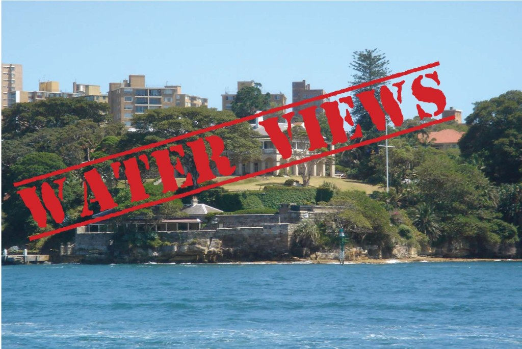 """""""The views from Kirribilli House are a $300 million drain on the public purse and I would gladly find a better tenant,"""" said L.J. Hooker."""