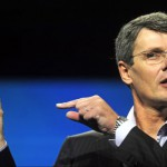 Research In Motion CEO Thorsten Heins unveiling the 