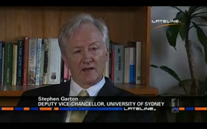 Stephen Garton on Lateline