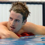 James Magnussen suffered heartbreak, losing the men's 100m freestyle by 0.01 seconds. Source: Yahoo Sport