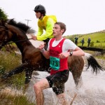 Humans have trumped horses twice in the somewhat coveted history of the race. Source: Zuma Press