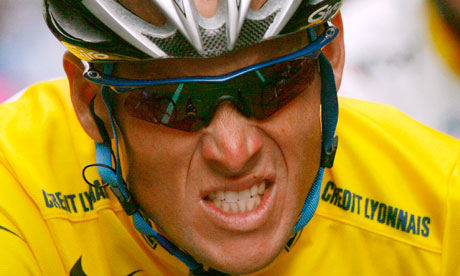 Lance Armstrong: Drug cheat or maligned superstar? Credit: The Guardian