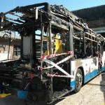 Hillsdale Bus Fire. Photo: Fairfax Media