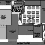 The Queerspace...notoriously difficult to find. Source: archives.