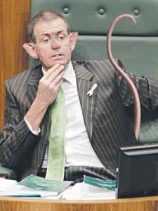 An image of Peter Slipper used earlier by The Telegraph