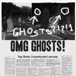 Yep.  Ghosts.