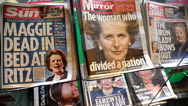 BRITAIN-POLITICS-THATCHER