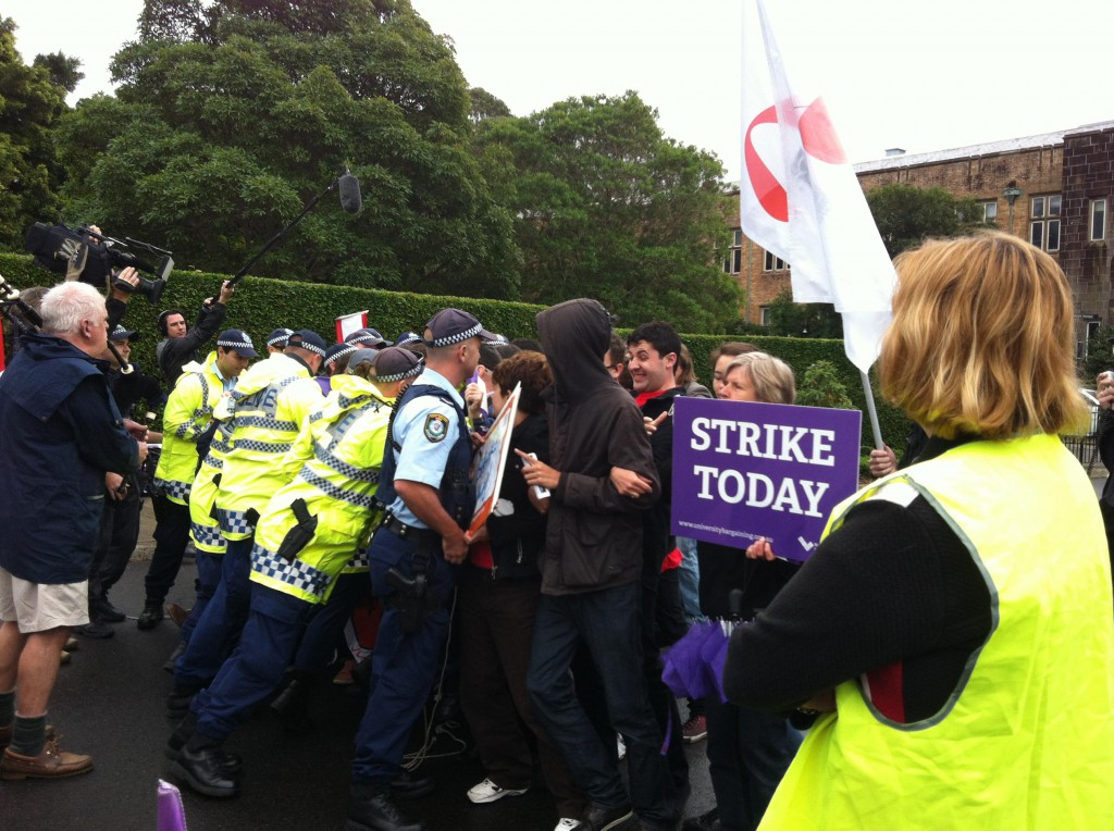 Eastern Avenue picket: May 14