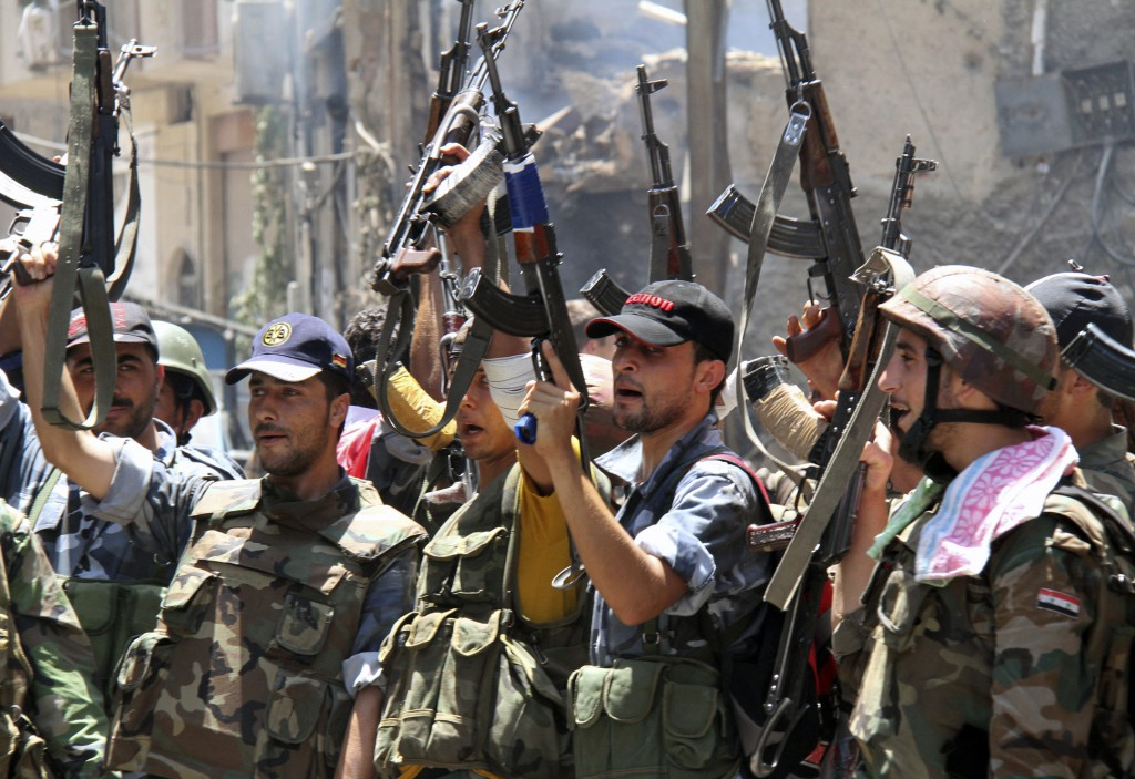 The Freehills Syrian Army