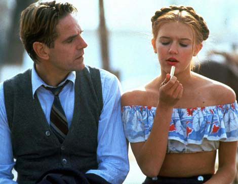Humbert Humbert and Lolita in Lolita (1997)