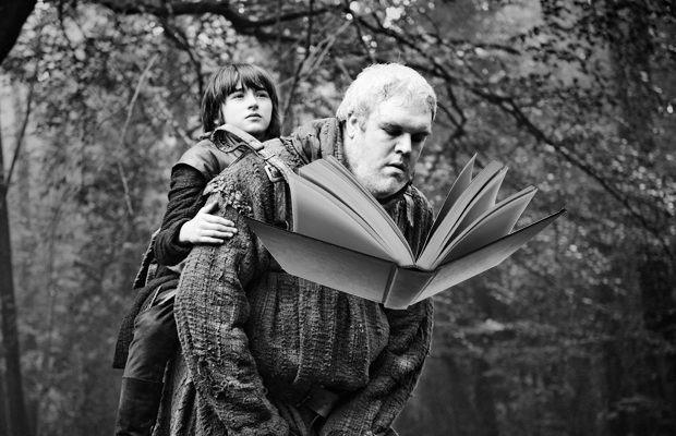 The world was astonished to discover Hodor was literate.