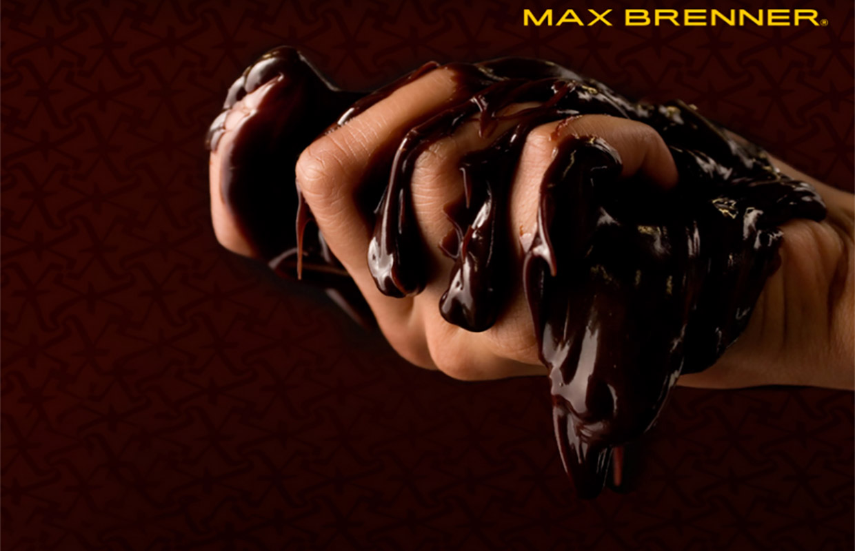Literally a screenshot from Max Brenner's Australian website.