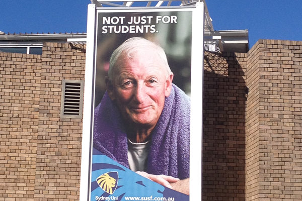 SUSF Ad 'not just for students'