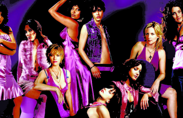 The cast of The L Word.