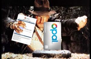 Indiana Jones reaching for Opal card