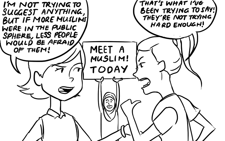 Muslim Women Comic