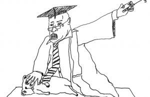 English Professor Euthanises A Dog