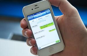 Sexting-Phone