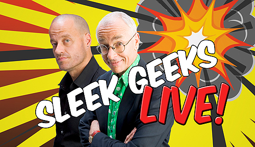 Sleek Geeks live advertisement