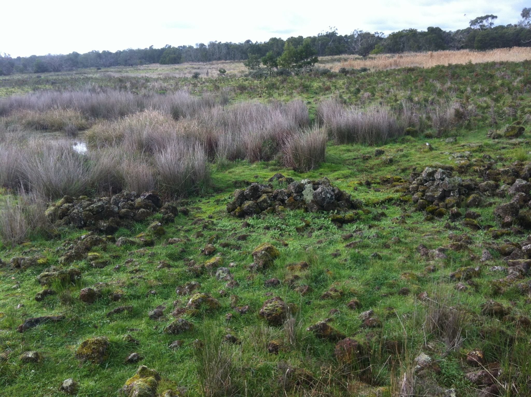 Remains of an 8000 year old Gunditjmara stone house