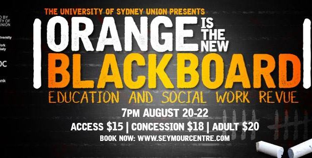 Orange is the new blackboard