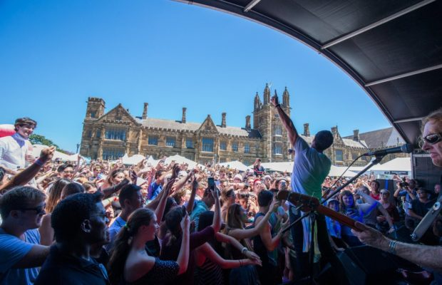 Shannon Noll at OWeek - © The University of Sydney/ Victoria Baldwin