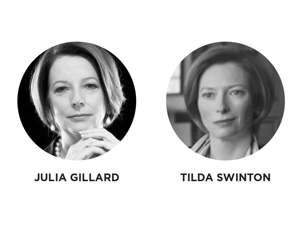 Julia Gillard - Tilda Swinton