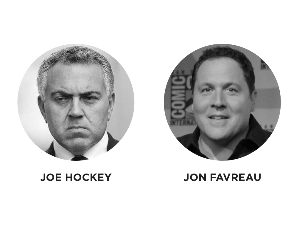 Joe Hockey - Jon Favreau