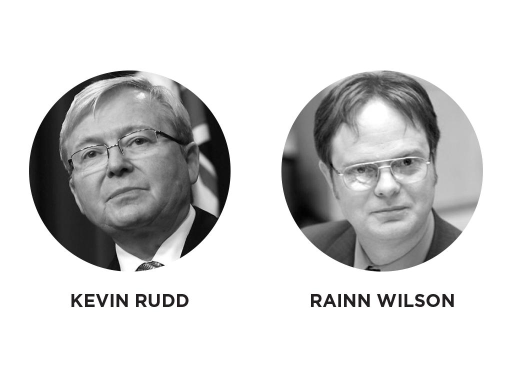 Kevin Rudd - Rainn Wilson