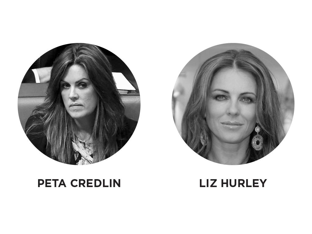 Peta Credlin - Liz Hurley