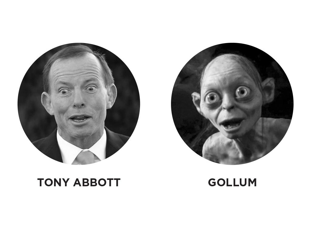 Tony Abbott - Gollum