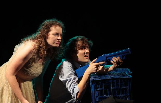 Ingrid Leighton and Steffan Lazar. Image by Tracey Schramm.