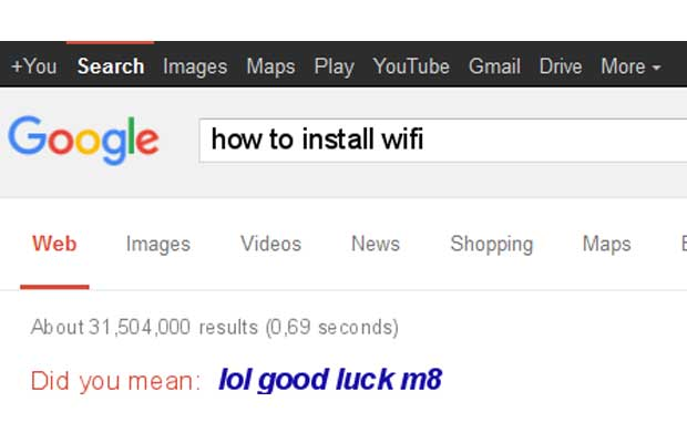 Google image search for how to install wifi