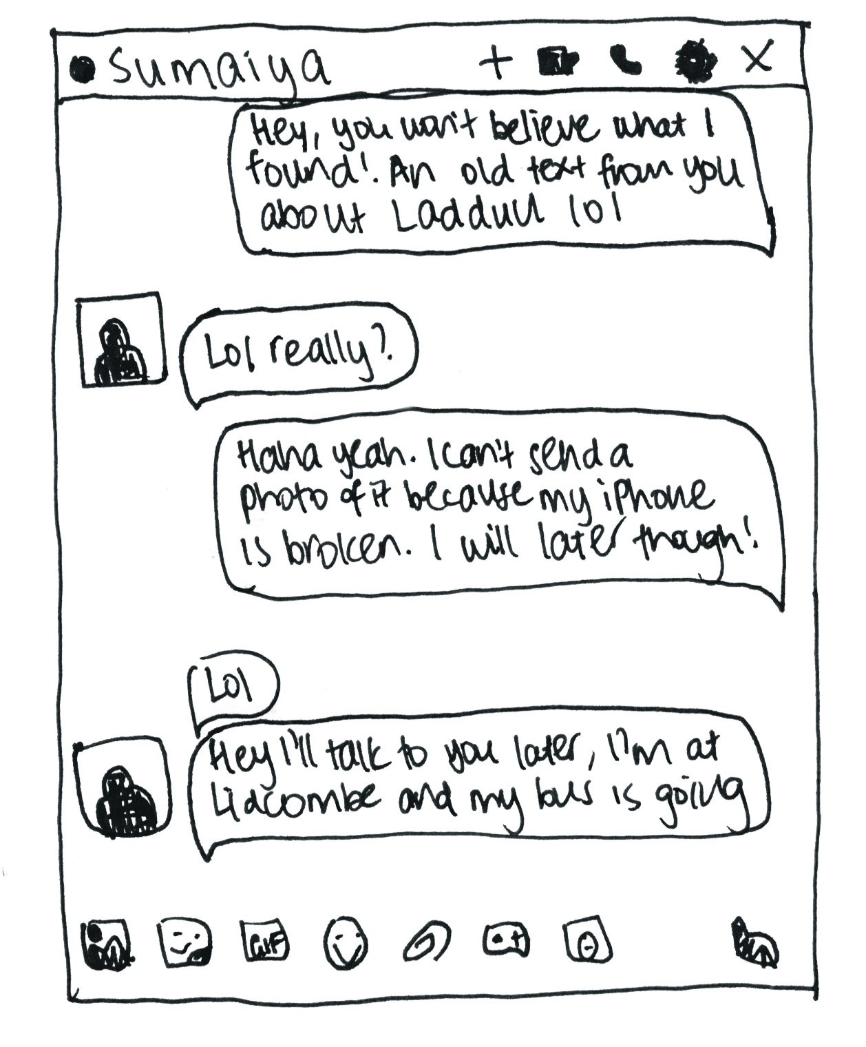 Page 16 Messenger Screenshot