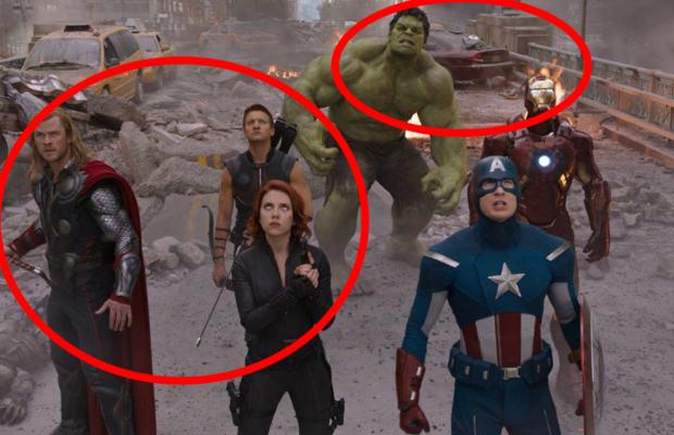 avengers scene