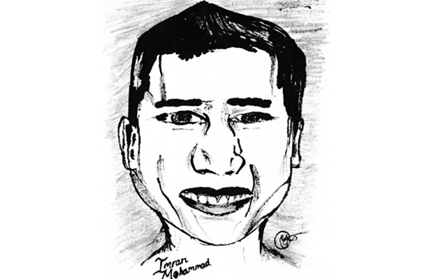 A portrait of Imran Mohammad.