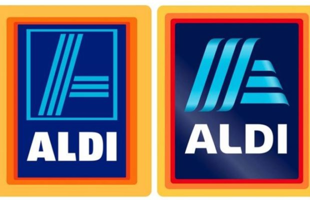 Aldi logo comparison