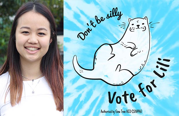 Don't be silly, vote for Lili
