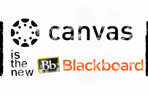 Canvas is the new blackboard