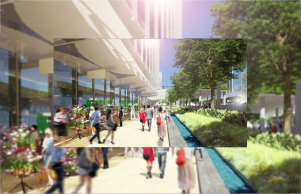 Artist's impression of the Westmead Health Precinct, where thousands of USyd students will study. Image: NSW Government / Westmead Precinct Alliance