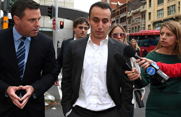 Luke Lazarus had his sexual assault conviction overturned.