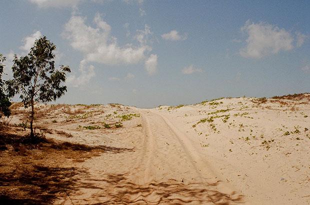p16 uphill sand