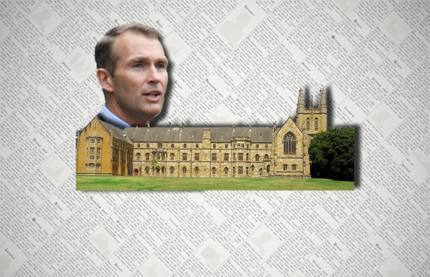 Education Minister Rob Stokes introduced the bill to parliament.