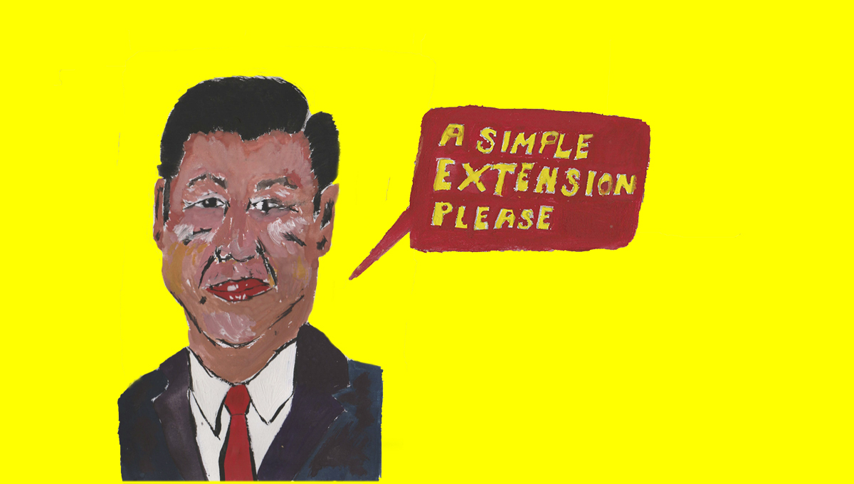 Xi Jinping applies for simple extension