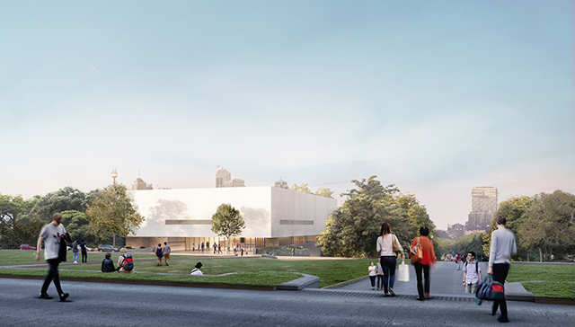 Image: Artist impression of the Chau Chak Wing Museum, supplied by Johnson Pilton Walker