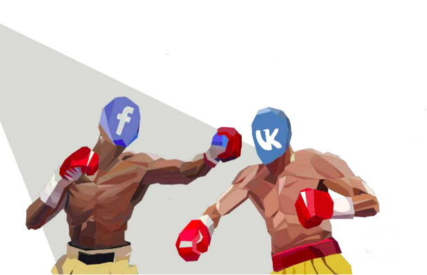 Outside the Anglosphere, social media is a very different place. Artwork by Victor Lee