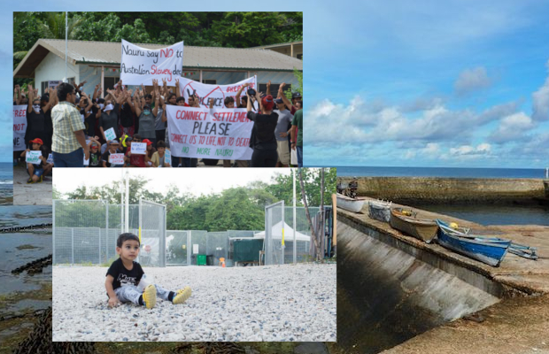 Collage of images from Nauru