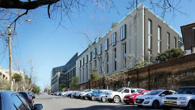Student Accommodation on Darlington Road. Image: Daily Telegraph